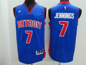 Cheap Quality Detroit Pistons #7 Brandon Knight Gear Revolution 30 Swingman Road VSM1419