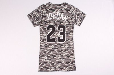 Genuine Jersey Michael Jordan 23 women dress BJW4291
