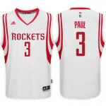 Genuine NBA Houston Rockets #3 Chris Paul 2017 18 Home White Swingman HFO1889