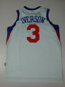 Good work Superstar Allen Iverson Jersey 011 QHJ88