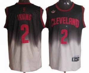 Hot 2018 Cleveland Clothing Cavaliers #2 Kyrie Irving Fadeaway Swingman UFH1222