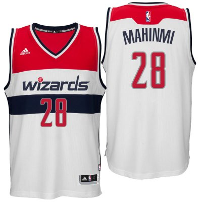 Hot Sale Online Washington Wizards #28 Ian Clothing Mahinmi 2016 Home White Swingman BTB4190