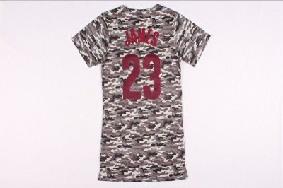 Popular Lebron James Clothing 23 women dress WLQ4290