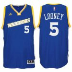 Silk fabric Kevon Looney Stretch Crossover #5 Golden Basketball State Warriors Royal Swingman XAP1616
