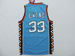 The last product Detroit Pistons #33 Ewing 1996 all Gear star blue UXU1403
