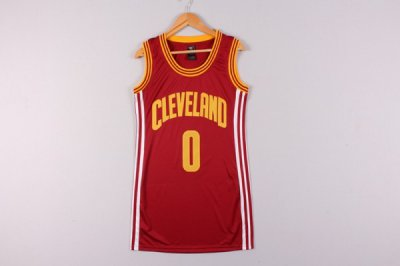 Top Quality Cleveland Cavaliers 0 Kevin Love Red Basketball dress DOD4330
