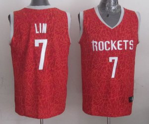 Beautiful Lin Rockets Jersey Crazy Light Swingman #7 GRB1942
