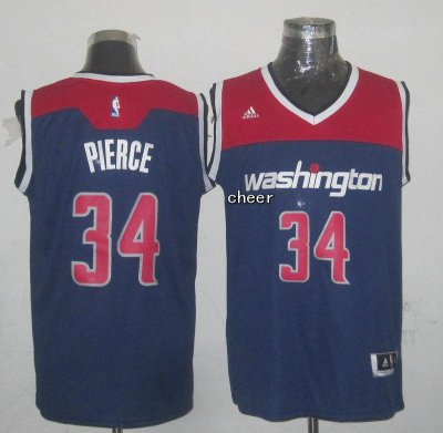 Buy 2018 Washington Wizards #34 NBA Pierce blue SVX4196