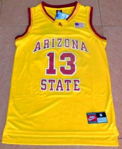Cheap Basketball Men's Arizona State #13 James Harden Yellow College Basketball URB1913