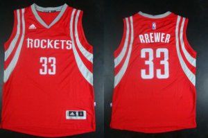Cheap Hot Sale Revolution 30 Rockets #33 Jerseys Corey Brewer Red Road Stitched CZP1923