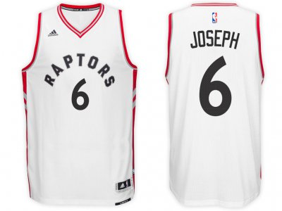 Classic version Raptors #6 Cory Joseph White Home Gear Swingman NIZ3850