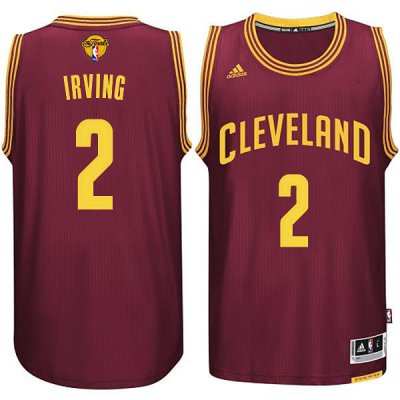 Discount Cleveland Cavaliers #2 Kyrie Jersey Irving 2015 16 Finals Red RRI266