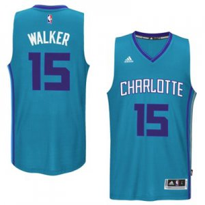 Exactly Fit Mens Charlotte Hornets Kemba Walker Teal 2014 15 Swingman Merchandise Road VVH633