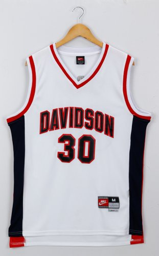 Find Gear Golden State Warriors G Stephen Curry White Red Davidson College NCAA 30 TYD1689