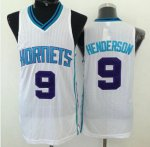 Guarantee Quality Revolution 30 Hornets #9 Gerald Henderson Clothing White Stitched ANS656