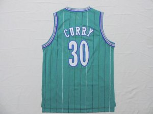 Lowest Price Charlotte Hornets 30 Dell Curry Hornets Clothing throwback HCJ632