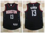 Official Houston Rockets #13 James Harden Black 2017 Stitched Clothing ARZ1897