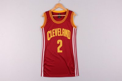 Online Sale Cleveland Cavaliers 2 Basketball Irving Red dress XXC4333