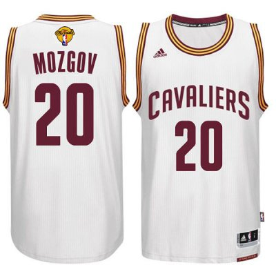 Sale Online Cleveland Cavaliers #20 Timofey Mozgov Gear 2015 16 Finals White ALN275