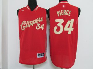 Sale Online Clothing Clippers #34 Paul Pierce 2016 Christmas Day FCI990