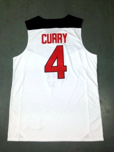Shopping Gear Stephen Curry 2014 FIBA Basketball World Cup white QWH4070