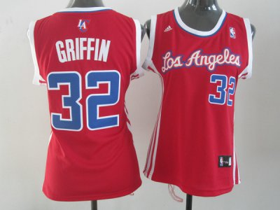 Smooth Los Apparel Angeles Clippers Griffin #32 Red Women QVO4353