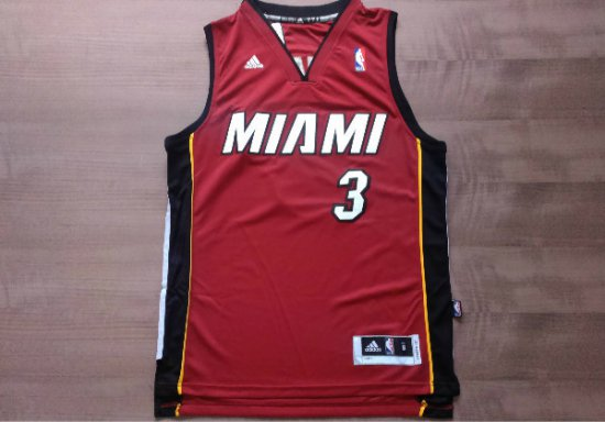 premium selection e051d dc503 Top Quality D.Wade Apparel Red Wade Nickname Miami UPX2645 ...