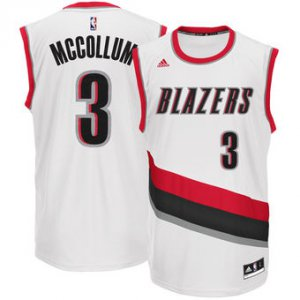 Wholesale price Men's Portland Trail Blazers C.J. McCollum White Apparel Home Replica TAX3465