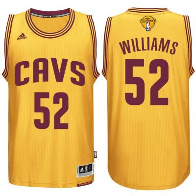 cheaper 2016 Jersey Cavaliers Finals #52 Williams yellow DGX249