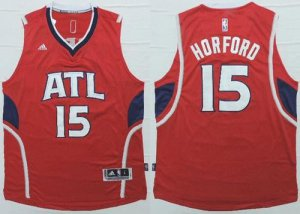 Best Atlanta Hawks #15 Al Horford Red Revolution NBA 30 JBI384
