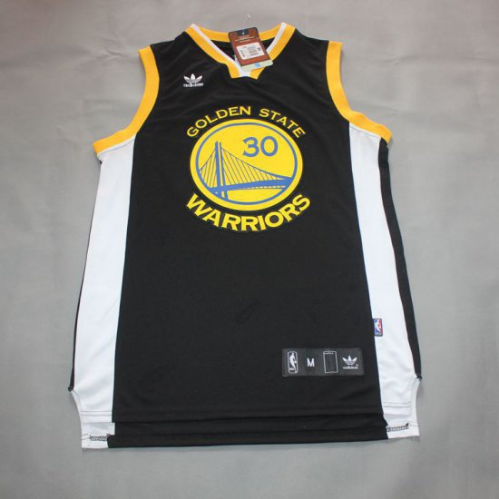 detailed look e6a24 b6227 Best Gift Curry Merchandise Golden State Warriors #30 Black ...