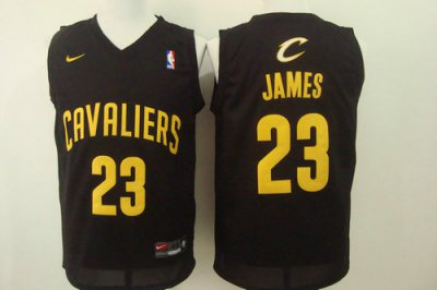 Buy Cheap Online Cleveland Cavaliers 23 LeBron Jersey James Black 2016 BUX1049