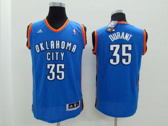 a76e247a3 Classic Version Kevin Durant Youth Kids Blue Merchandise GUJ2045 ...