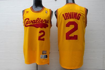 Discount Cleveland Cavaliers 2 Clothing irving Throwback yellow TWC1114
