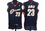 Fast Shipping Cleveland NBA Cavaliers 23 LeBron James Blue KDH1182