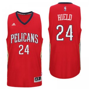 Fine fabric 2016 Draft NBA Orleans Pelicans #24 Buddy Hield Alternate Red Swingman VUH2912
