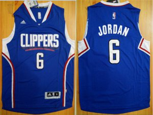Genuine Los Angeles Clippers #6 DeAndre Jordan Blue Clothing Alternate Stitched PEC2279