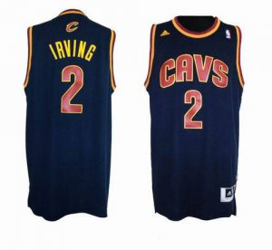 Hot 2018 Cleveland Cavaliers #2 Jerseys Kyrie Irving Blue Revolution 30 Swingman CWN1220