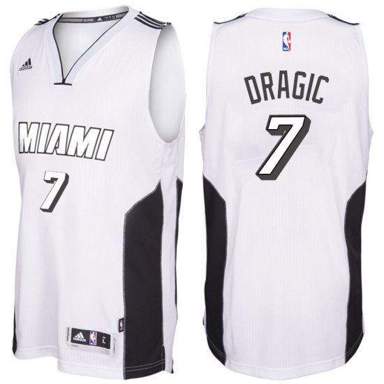 e7160416 Hot Online Miami Heat #7 Goran Dragic White Tie Gear Swingman OBL2615,  Jersey Uniform Basketball Design 2016, Jersey Basketball Green, Buy Nba  Shirts Fast ...