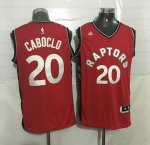 Hot Sale Cheap #20 Caboclo Toronto NBA Raptors red CMN3925