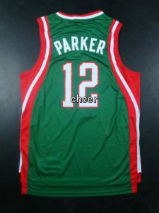 Hot Sale NBA Milwaukee Bucks #12 parker green MOJ2853