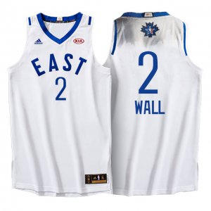 Official Quality 2016 Basketball All Star Eastern Conference Wizards #2 John Wall White LSN317