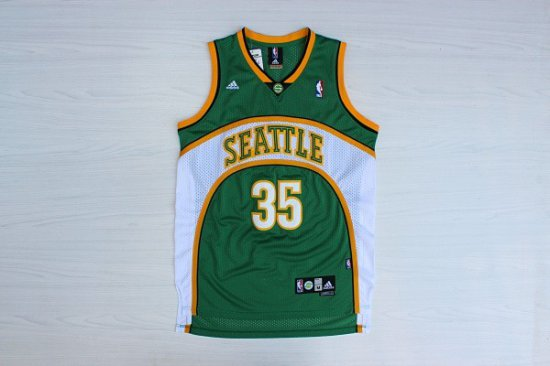 san francisco 03dfe 5ba8b Online Sale Kevin Durant 35 Seattle SuperSonics Basketball ...