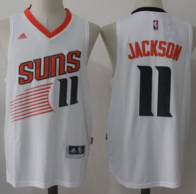 Online Shopping Suns Jersey #11 Josh Jackson White Home Stitched IBO3307