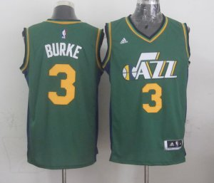Order Mens Utah Jazz Trey Burke Green Gear 2014 15 Swingman Alternate GSY4140