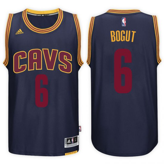 new products 47582 a728f Outlet Cleveland Cavaliers #6 Andrew Bogut 2016 17 Jersey ...