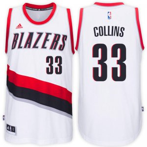Outlet Portland Trail Blazers Merchandise #33 Zach Collins Home White Swingman JFD3460