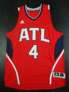 Popular Atlanta Hawks #4 Jerseys Alternate Men Paul Millsap blue QIL386