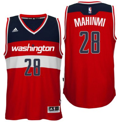 Promotional sale Washington Wizards #28 Ian Mahinmi 2016 Merchandise Road Red Swingman SQV4192