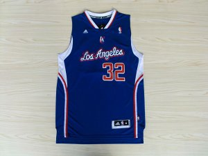 Releases Los Angeles Clippers #32 Blue 015 Merchandise AZK2309